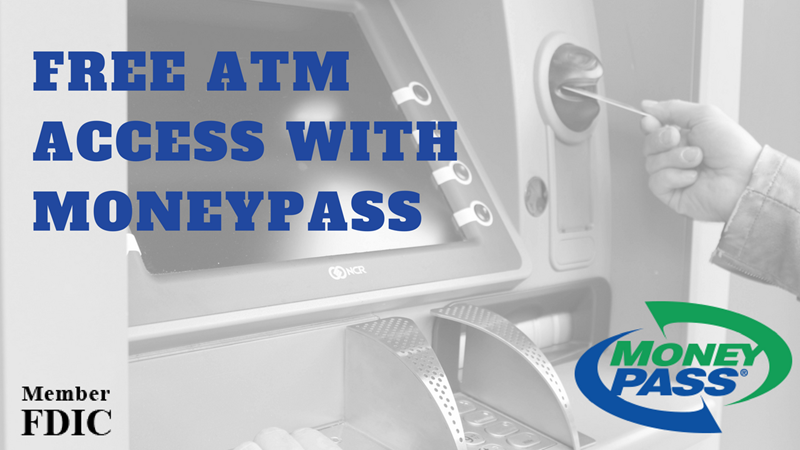 Free ATM Access with MoneyPass
